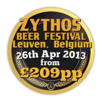 Zythos Beer Festival Leuven, Belgium, 26th April 2013